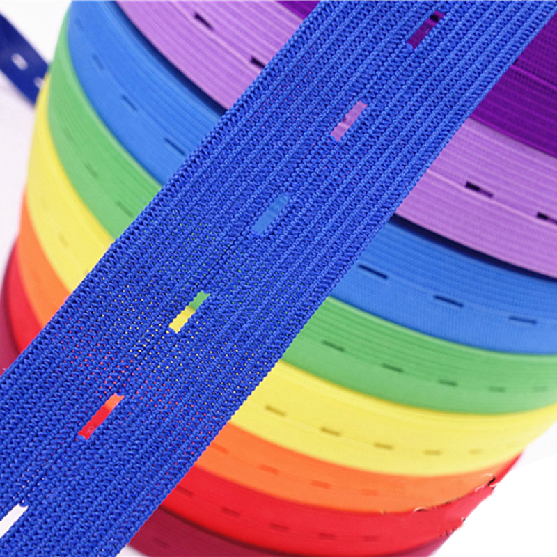 Adjustable Elastic Band / Buttonhole Buttonhole Elastic Band / Baby Maternity Tape / Rubber Band