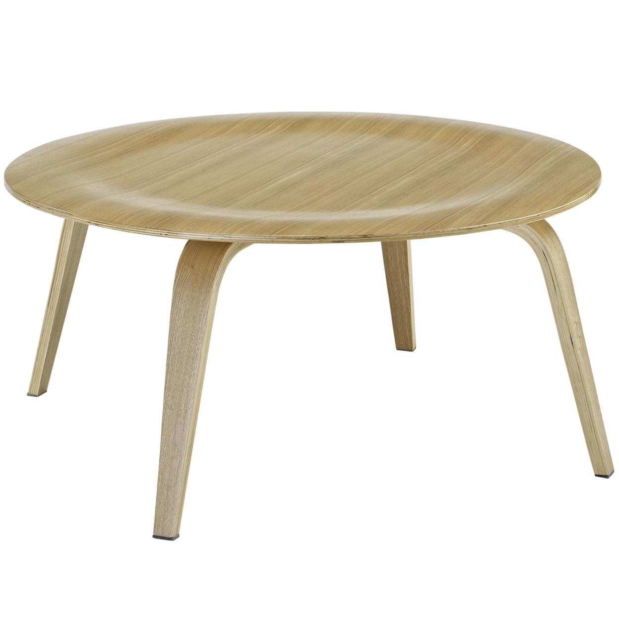 Фанера Кофе стол натуральный