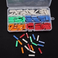 200pcs 5 Kinds Ceramic Fuse Electrical Continental Fuses Assortment Kit 5A 8A 16A 25A 40AMP for Car Two-wheeler Mayitr