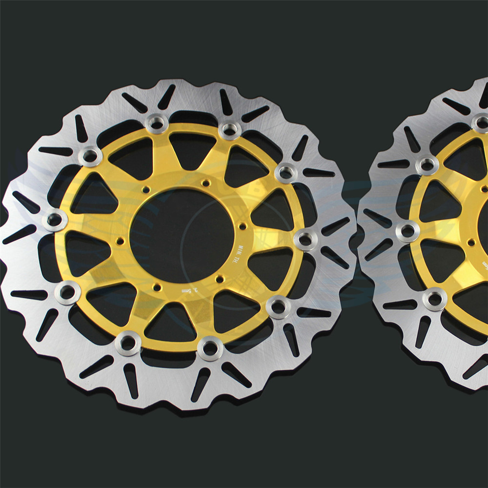 new brand Motorcycle accessories front Brake Disc Rotor For Honda CBR1000RR 2006 2007 2008 2009 2010 2011 2012 arashi motorcycle radiator grille protective cover grill guard protector for 2008 2009 2010 2011 honda cbr1000rr cbr 1000 rr