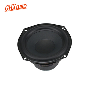 Image 1 - 5.25 inch 137MM Woofer Speaker 30W 8OHM Bass Long Stroke Paper Cone Rubber Low Frequency 2 Way Subwoofer DIY 1PC