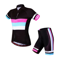 WOSAWE Gel Pad Breathable Sports Suit Cycling Jersey Ciclismo Maillot Summer Cycling Clothing