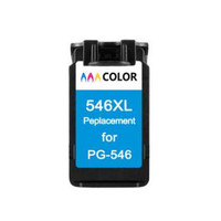 hisaint Listing For Canon 546 CL 546XL Ink Cartridges (High Capacity) Hot For Canon PIXMA MX495 Printers Free Shipping