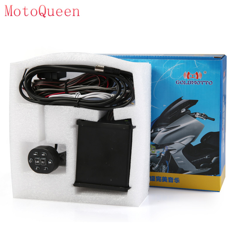 MotoQueen 35w * 4 motor kenderaan speaker kotoran basikal mp3 pemain - Aksesori dan bahagian-bahagian motosikal - Foto 2