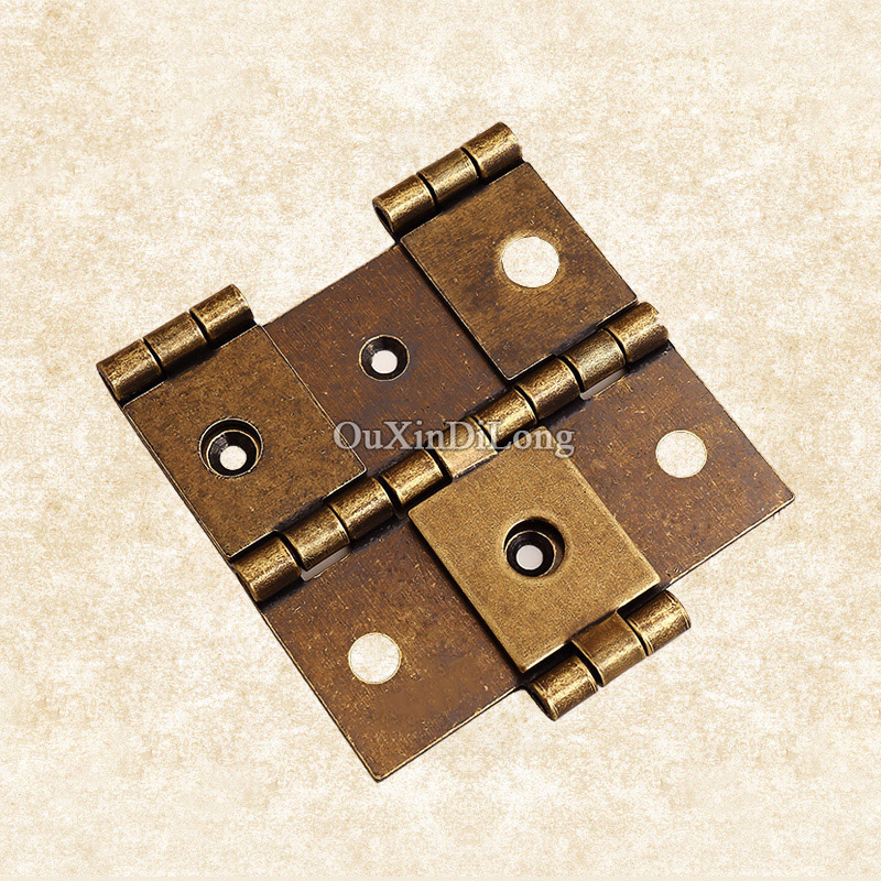 getSubject() aeProduct.getSubject() - Hotsale 2PCS/lot Antique Hinges Metal Door Butt Hinges Cupboard
