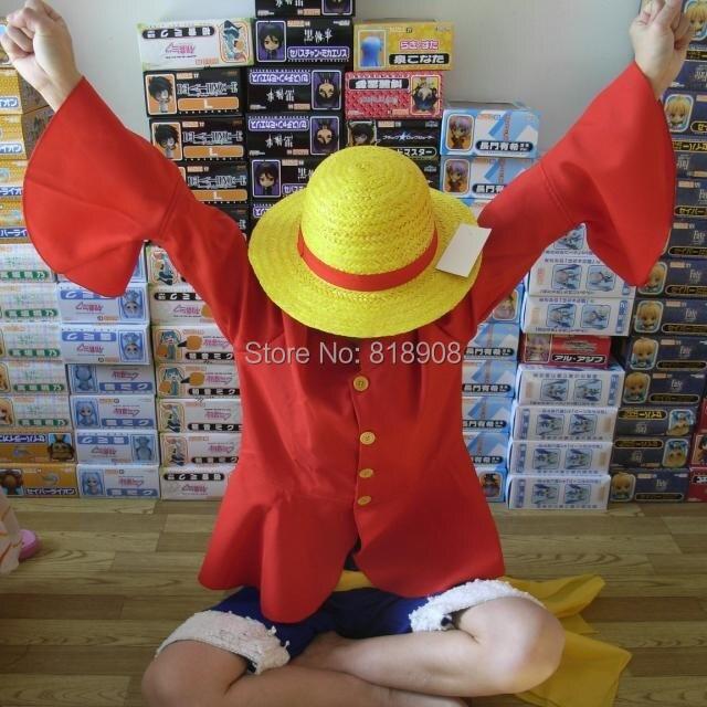 Japaneseապոնական Anime One Piece Monkey D. Luffy 2 տարի - Կարնավալային հագուստները - Լուսանկար 3