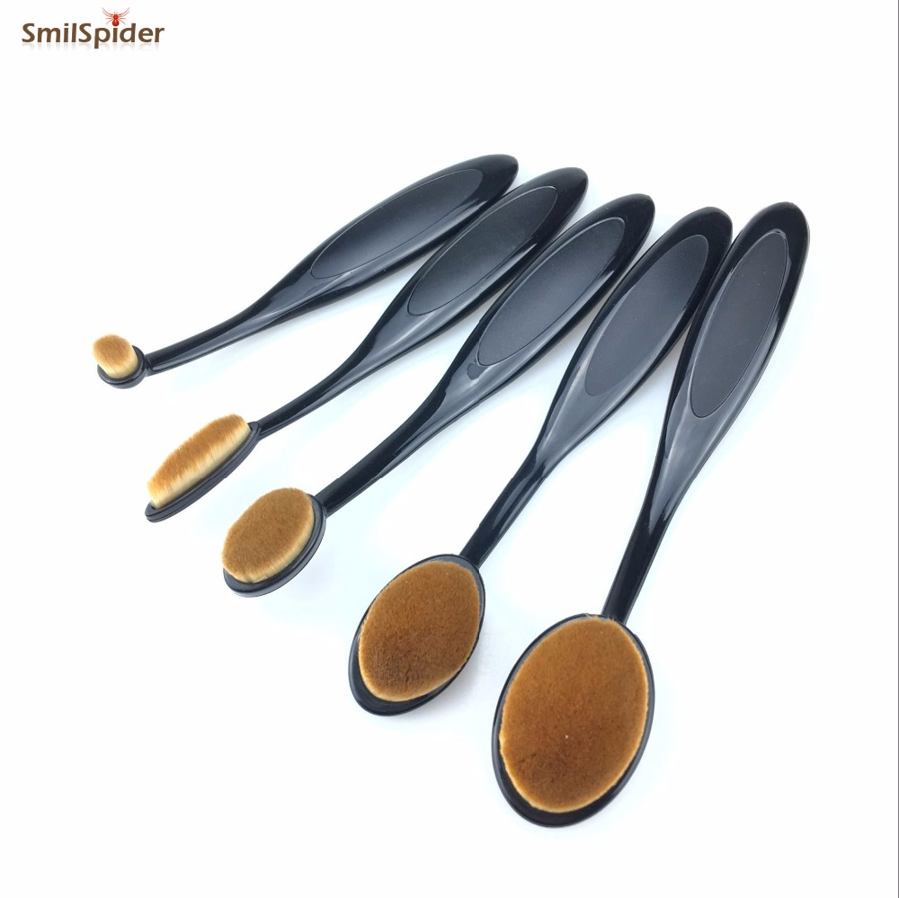 5pcs Oval Makeup Brushes Set Foundation Toothbrush Highlighter Brush Kit Eyeshadow Eyeliner Powder Make Up Brand Tool Cosmetic dickens charles the mystery of edwin drood