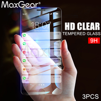 MaxGear [3pcs] 9H 2.5D Tempered Glass for iPhone 5 5S SE 8 7 6 6s Plus Screen Protector for iPhoneX Protective Glass Guard film