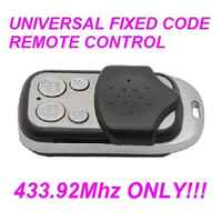 TELECOMA PRASTEL FAAC NICE came v2 Universal Garage Gate Remote Control  fob 433.92MHz fixed code remote control duplicator