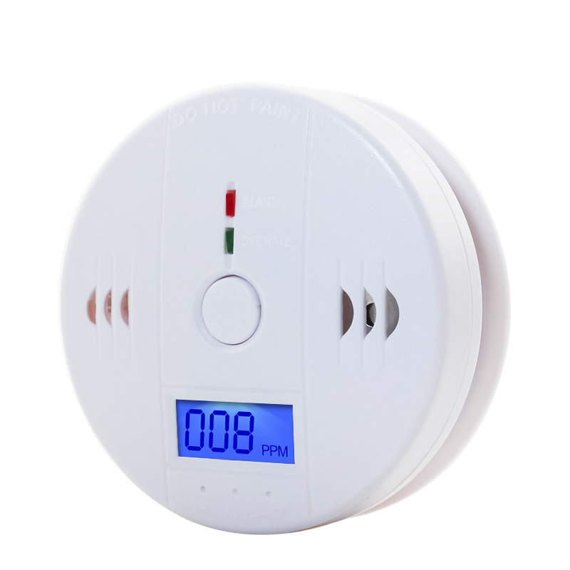 Carbon Monoxide Detectors Home Security 85dB Warning High