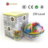 299 level 3D Magic Maze Ball magical intellect ball educational toys Marble Puzzle Game balls IQ Balance toy