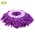 WCIC 360 degree Microfiber Mops Head Mop Clean Tools Refill For Home Magic Easy Spin Mops Super Water Dust Absorbing