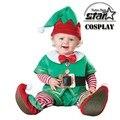 Nueva Llegada Mono Navidad Santa Snow White Dwarf Pingüinos Leotardo Mameluco Infantil de Disfraces de Halloween Traje Del Bebé Del Bebé Onesie