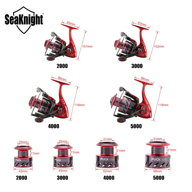 SeaKnight New PUCK Fishing Reel 9KG.