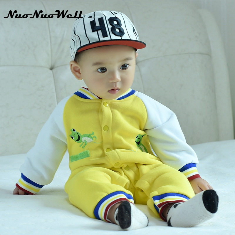 NNW Winter Baby Rompers Clothes Baby Clothing Winter Newborn Baby Boy Girl Clothes Jumpsuit Bear Overalls Baby Snowsuit Costume