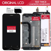 Original TESTED 1920×1080 Display For ASUS Zenfone Go LCD Touch screen With Frame Digitizer Assembly 5.0 Dual SIM ZC500TG Z00VD