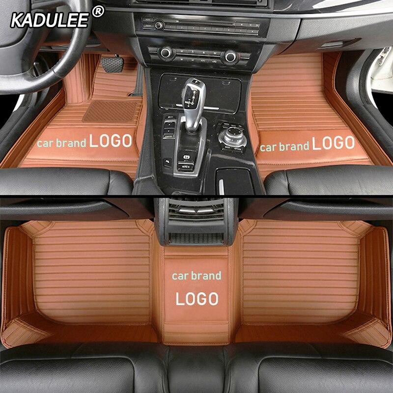 KADULEE car floor mat for BMW LOGO BMW e30 e34 e36 e39 e46 e60 e90 f10