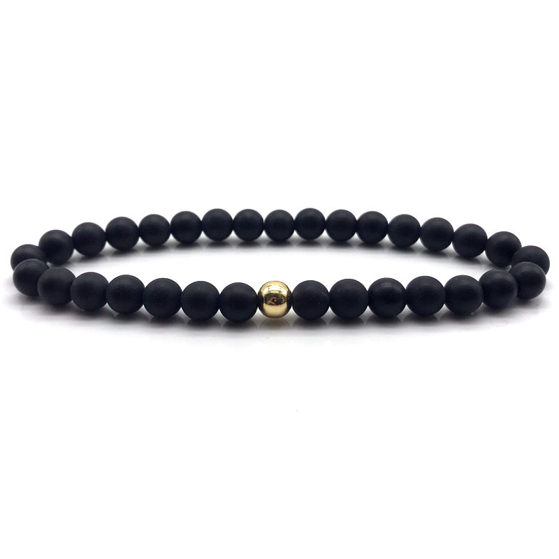 NAIQUBE 2018 Neue Trendige Mode Perlen Armband Für Männer Frauen Einfache Stil Charme Armband Schmuck Geschenk