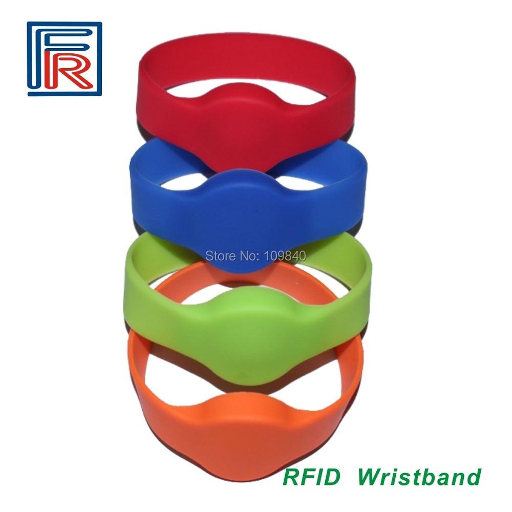 500pcs LF Silicone RFID Wristband Bracelet Tag 125KHz for ACCESS CONTROL,TK4100 / EM4100 CHIP rfid 125khz wristband with em chip waterproof abs bracelet for access control swimming pool fitness suana water park 100pcs lot