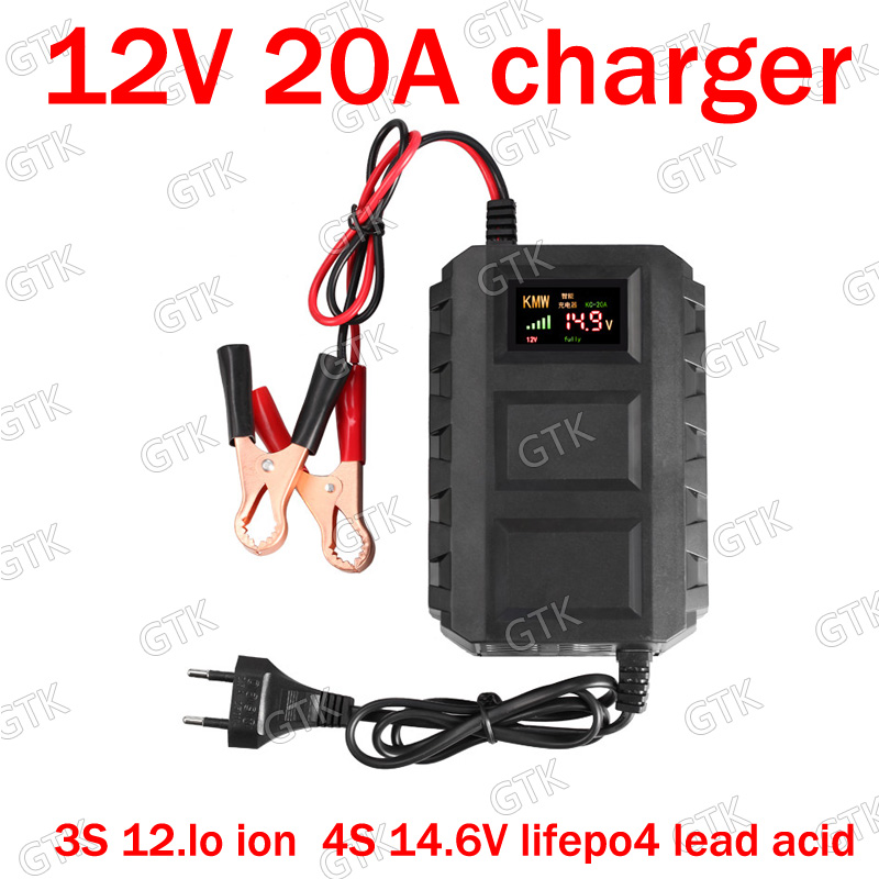 Fast 50a Charger 12v 12.8v 14.6v 14v 14.8v 16.8v For Lto Lithium Titanate Lifepo4 Lipo Adjustable 0-60v 20a 30a 50a 3000w Power 50% OFF Accessories & Parts