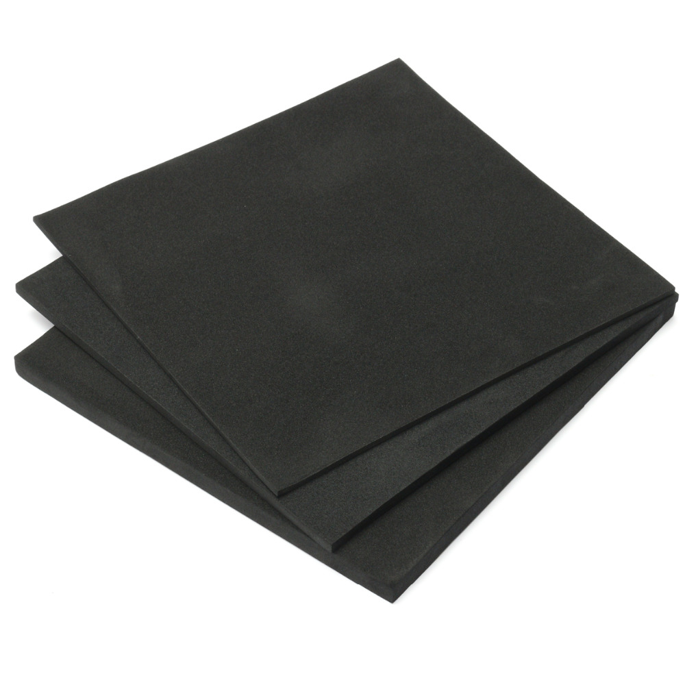 3/5/10/15mm ESD Anti Static Pin Insertion High Density Foam Soundproofing Foam 200x200mm Sound-Absorbing Noise Sponge Foams
