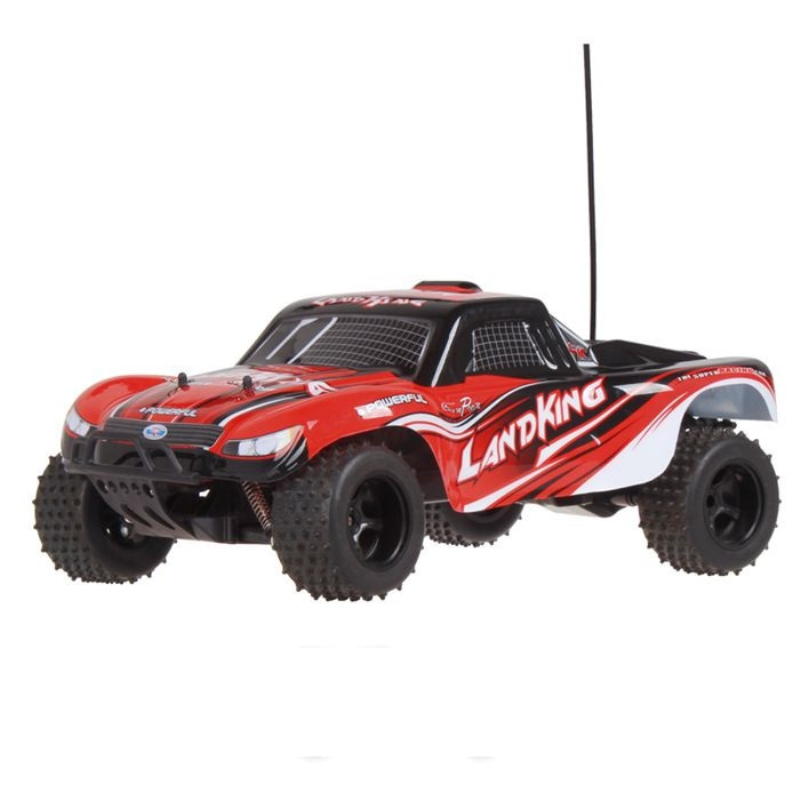 2.4G 1/10 Electric RC Short Course Truck Off-Road Buggy Car LK-815 Brushed Motor 30KM/H High speed Remote Control rc car toy gif new 7 2v 16v 320a high voltage esc brushed speed controller rc car truck buggy boat hot selling