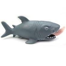 ABWE बेस्ट सेल क्रिएटिव मजेदार खिलौना निचोड़ तनाव गेंद वैकल्पिक विनोदी शार्क खाओ मानव पैर निचोड़ दबाव Decomp राहत