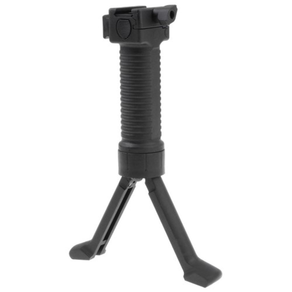 Military Tactical Fore Grip Bipod Pod Picattinny Weaver Rail Rifle Foregrip For Paintball Shooting New