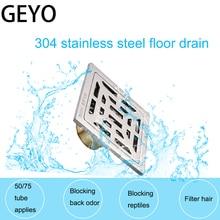GEYO Bathroom Deodorization Type Basin Sink Drain 304 Stainless Steel Kitchen Sink Strainer Stopper Waste Plug Sink Filter цена в Москве и Питере