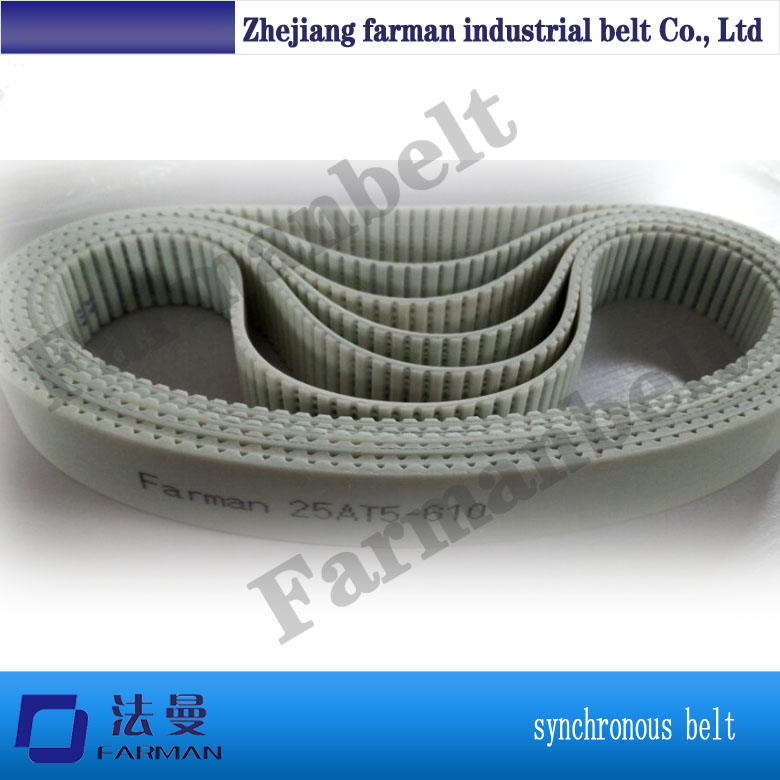 Double side tooth steel cord PU timing belt for cutting machines