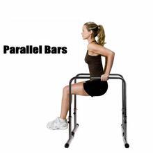Портативный фитнес-домашний параллельный бар может загружать 200 кг, горизонтальный бар тренировки Dip бар стенд для отжимания, пуш-ап бар тренировочное оборудование