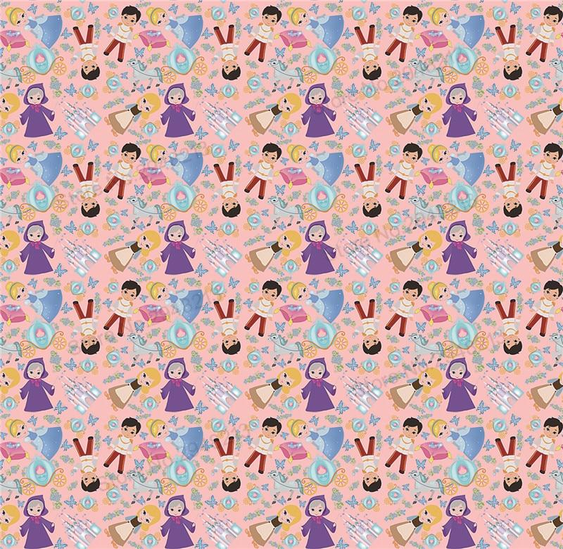 10 шт./лот Мультфильм Печатных Синтетическая кожа ткань Vinly для волос лук сумки 20*34 см PPUL05