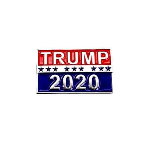 Trump 2020 Pin, พรรครีพับลิกันแคมเปญ Pin, ยกตัวอักษร