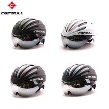 CAIRBULL 2017 Latest EPS TT Bike Bicycle Helmet, Short-tail Time Trial Bicycle Helmet, TT Aero Track Cycling Helmet