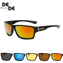 Brand Classic Polarized sunglasses Men Driving Square Black Frame Eyewear Male Sun Glasses for men