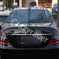 W221 S класс углеродного волокна задний багажник спойлер крыло для Mercedes Benz W221 2010-2013 AMG стиль
