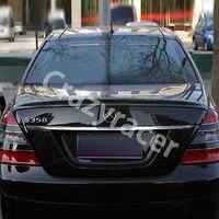 W221 S класс углерода Волокно задний багажник спойлер крыла для Mercedes Benz W221 2010 2013 AMG Стиль