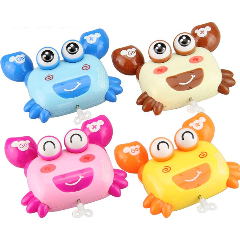 Image 5 - BalleenShiny Mini Baby Clockwork Spring Toys Kids Developmental Educational Colorful Wind up Fun Intelligence Toys Random Color-in Baby Rattles & Mobiles from Toys & Hobbies