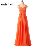 Real Pictures Long Bridesmaid Dresses for Women Open Back Lace Chiffon Custom Plus Size Formal Party Dress for Wedding