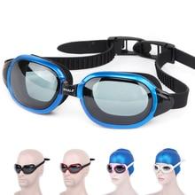 Professional brands Waterproof silicone glasses swim Eyewear Anti-Fog UV men women goggles cf8600 with box free shipping