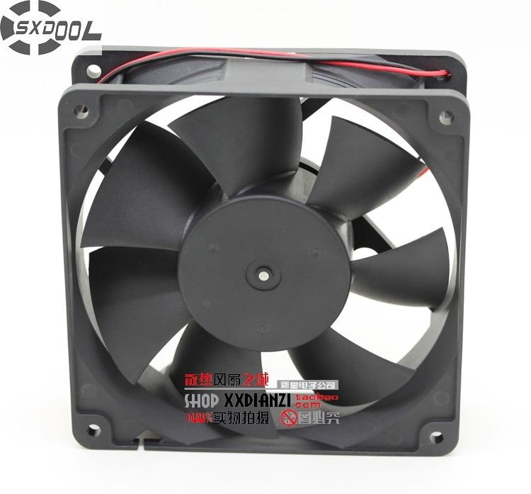 SXDOOL FD241238HB 12038 120*120*38mm 12cm 24V 0.36A 2800RPM 125CFM inverter cooling fan delta new furniture in 12038 ffb1224she 24 v 1 20 big air volume converter cooling fan for 120 120 38mm