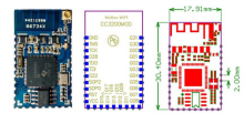 5PCS LOT Ultra-low power wifi module CC3200