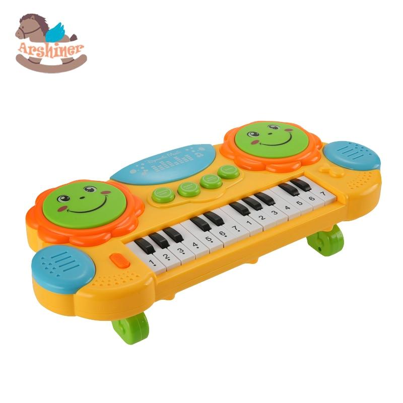 arshiner baby kids musical organ electronic organ keyboard hand beat pat drum piano educational. Black Bedroom Furniture Sets. Home Design Ideas