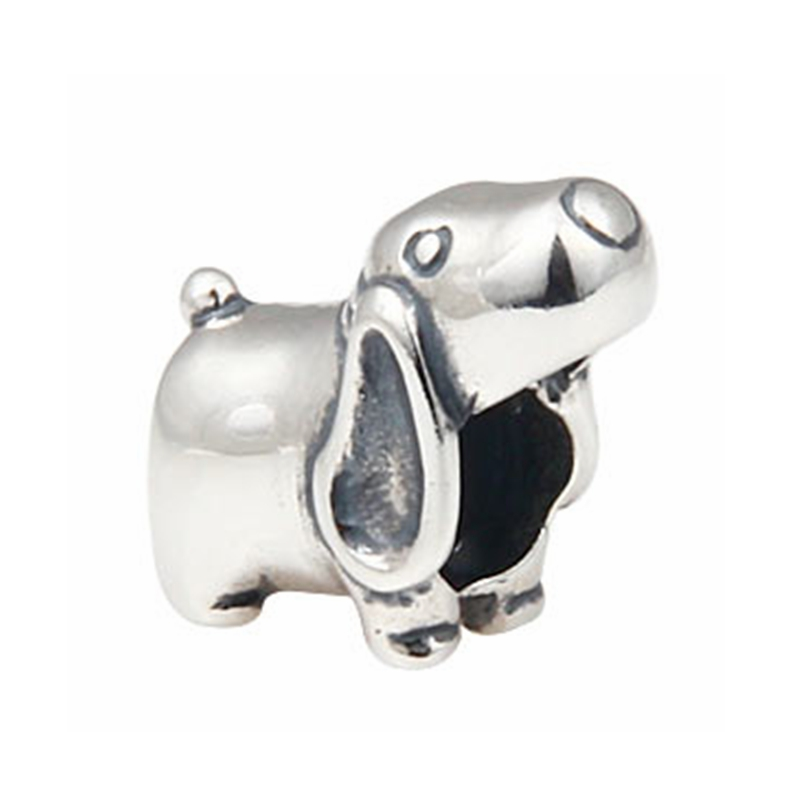 Cute Puppy Dog Charms Original 100% Authentic 925 Sterling Silver Beads fits Pandora Charms bracelets & Necklaces