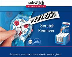 Германия PolyWatch Scratch Remover Paste г 5g удаление легкого крема для ремонта акриловых пластиковых часов, таких как Swatch