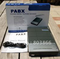 Phone System PBX Telephone Switch For Soho Business Solution Hot Sell