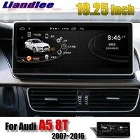 Liandlee Car Multimedia Player NAVI For Audi A5 8T 2007~2016 Original Car System Radio Stereo GPS WIFI MAP 4G SIM Navigation