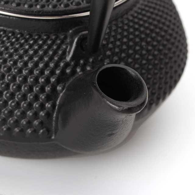 Cast Iron Tea Pot Teapot Japanese Style Kettle With Strainer Flower Tea Puer Kettle Coffee Teapot 300ml 5