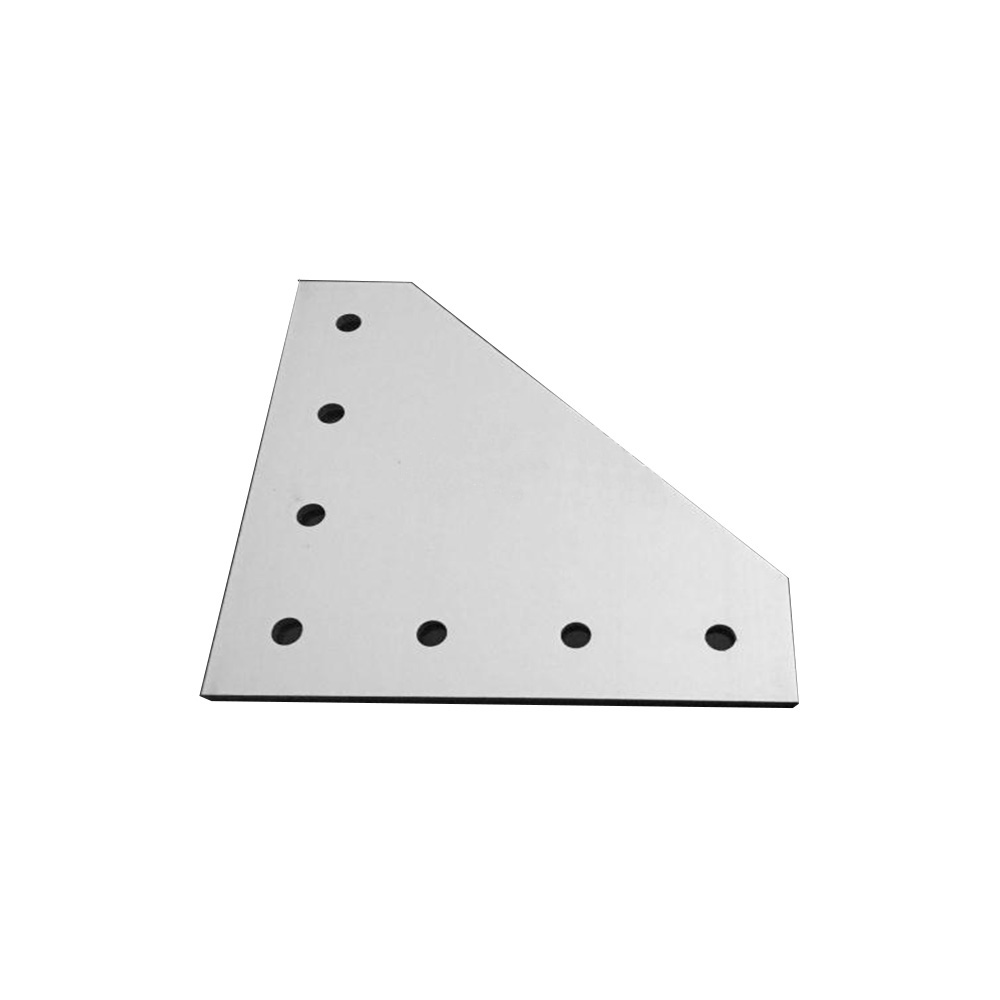 1pcs 3030 / 4040 with 7 hole L type 90 Degree Joint Board Plate Corner Angle Bracket Connection Joint for Aluminum Profile цена