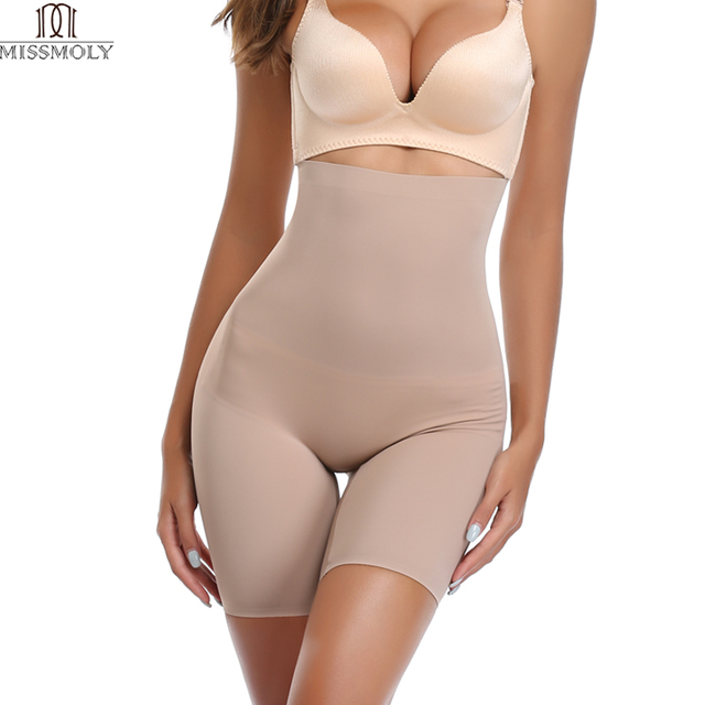26f174d5dfd17 Women High Waist belly Trainer Body Shaper Slimming Thigh Control Panties  Recovery Abdomen Seamless Shapewear Corset Tummy Sexy
